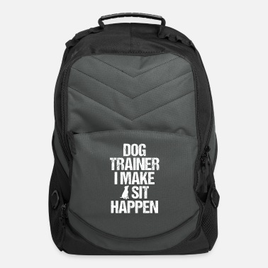 Obedience Dog Trainer Dog Commands Obedience Training - Computer Backpack