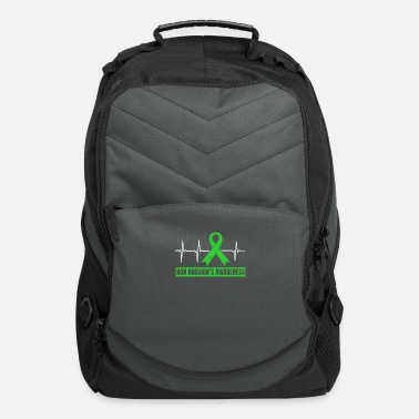 Gawkclothing Nonhodgkins Lymphoma Heartbeat ECG Gift - Computer Backpack