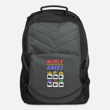 Gases Noble Gases shirt geek nerd scientist present - Computer Backpack