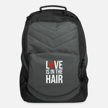 Sexy Girls Love Is In The Hair Pretty Girl - Computer Backpack