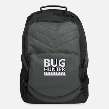 Css bug hunter programmer programming code present - Computer Backpack