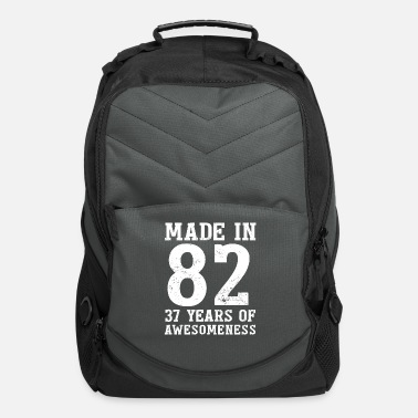 37 Number Made in 1982 37 Years of Fascination - Computer Backpack