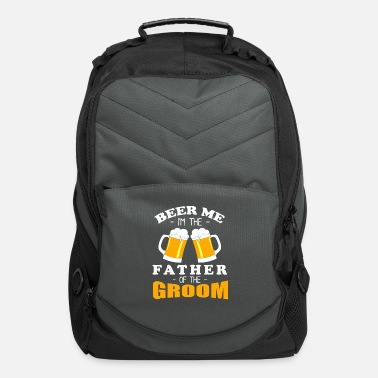 I'm The Father Of The Groom - Beer Drinkers Design - Computer Backpack