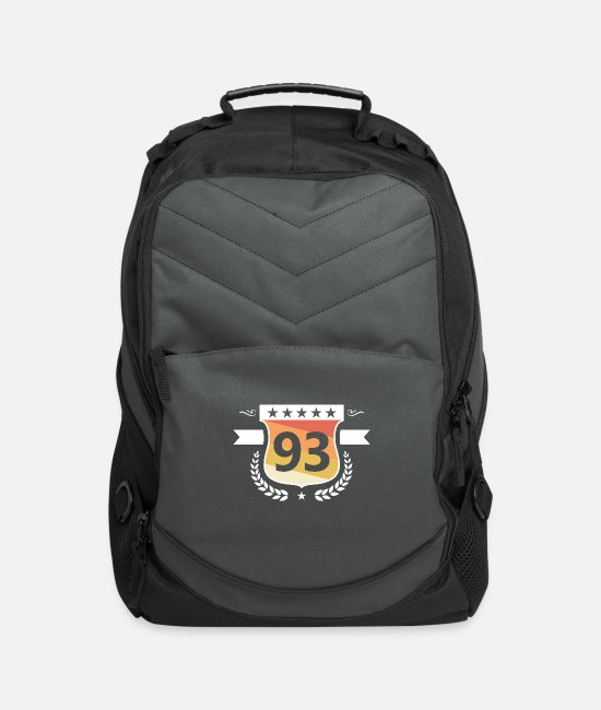 Birth Year Bags & Backpacks - Made in 1993 - Vintage Edition Birthday - Computer Backpack charcoal