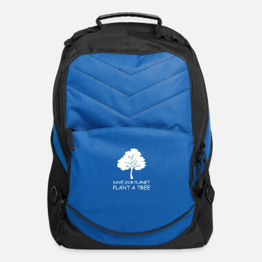 Plant Trees Save Earth Save our planet plant a tree - Computer Backpack