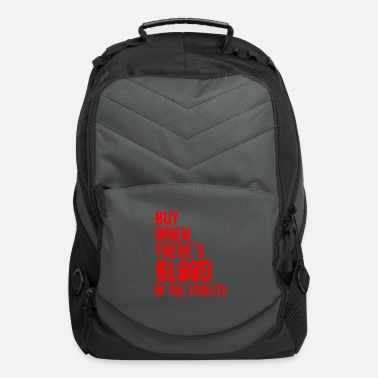Out Contrarian Investing Investor Buy When There's - Computer Backpack
