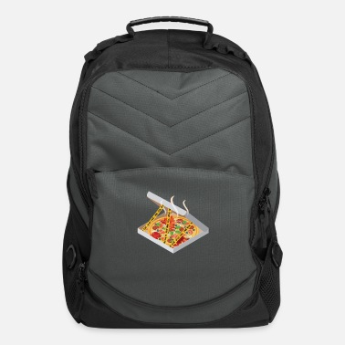 Mothers Day Pizza Police Line Do Not Cross Food Funny Gifts - Computer Backpack