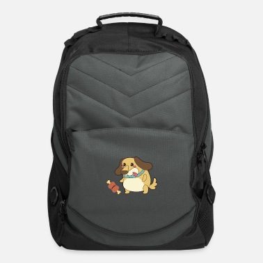 Monster Love dog my family - Computer Backpack