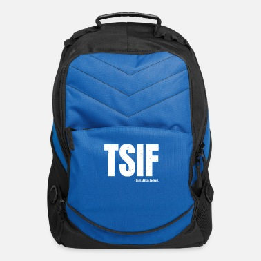 Hipster TSIF - That Shit Is Fucked - Vintage - Computer Backpack