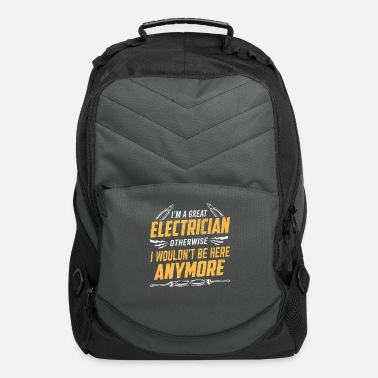 Funny Electrician Funny Electrician Funny Electrician - Computer Backpack