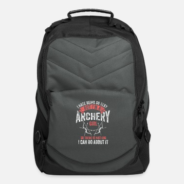 Archer Girl Archery Girl Bowhunter Archer Gift - Computer Backpack