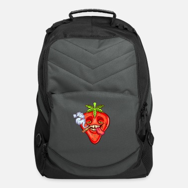 Strawberry Coughs Strain Straw Berry Marijuana - Computer Backpack