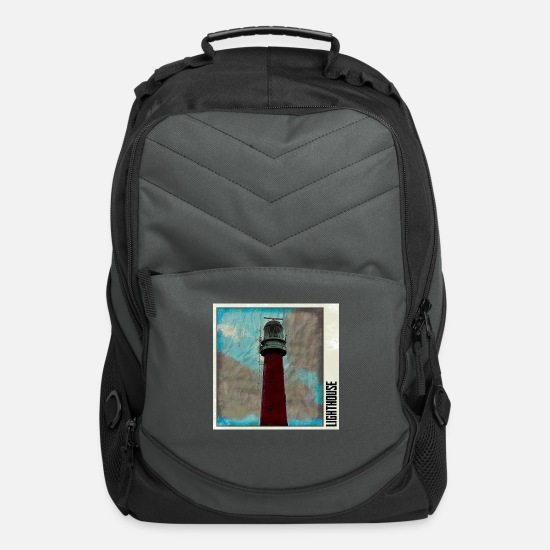 Harbour Bags & Backpacks - lighthouse - Computer Backpack charcoal