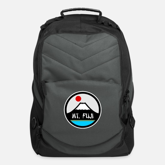 Birthday Bags & Backpacks - Mount Fuji - Japan Nature Landscape - Asien Sights - Computer Backpack charcoal