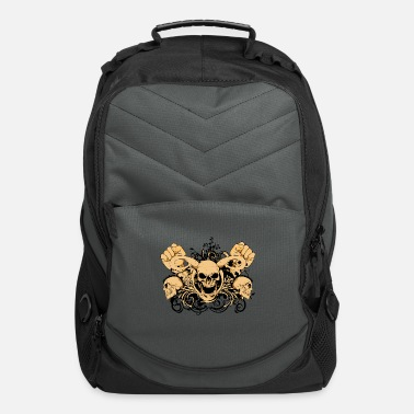 Punch Skull Punch - Computer Backpack