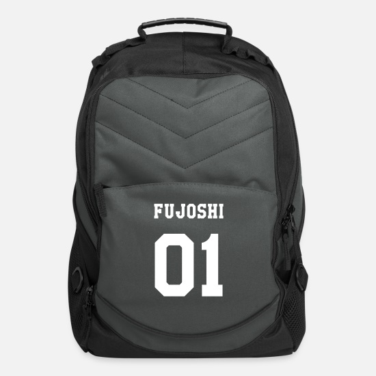 Love Bags & Backpacks - Fujoshi Yaoi Anime - Computer Backpack charcoal