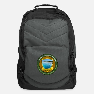 Service National Park Centennial TShirt Yellowstone View - Computer Backpack