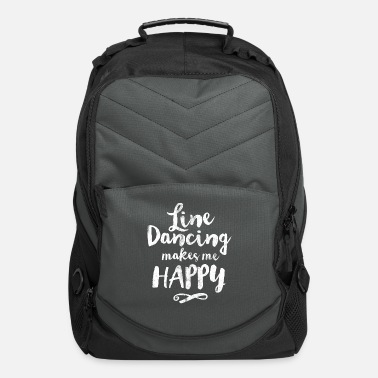 Group LINE DANCING MAKES ME HAPPY - Computer Backpack