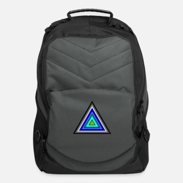 Triangle Triangles in Triangle - Computer Backpack