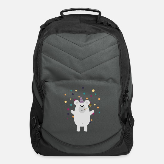 Polar Bags & Backpacks - Party Polar Bear Sfyq7 - Computer Backpack charcoal