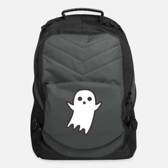 Symbol  Bags & Backpacks - Cute Ghost - Computer Backpack charcoal