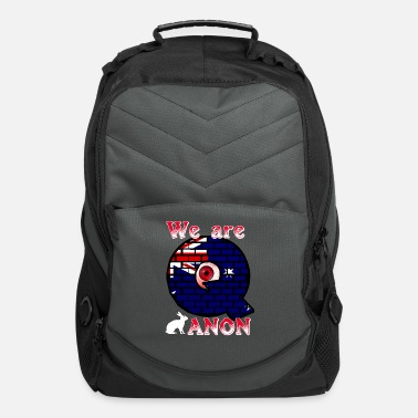 Wikileaks We are ANON Australia - Computer Backpack