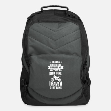 Quote Dirt Bike Motocross MX Rider Girlfriend Off Road - Computer Backpack