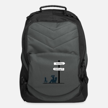 Watch Tv watching tv reality gift - Computer Backpack