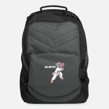 Rat making Karate - Computer Backpack