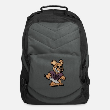 BSK Amok bear front - Computer Backpack