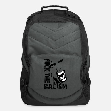Racism Fuck the racism / Fuck racism - Computer Backpack