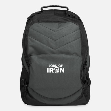 Gym Wear Gym Wear - Lord Of Iron - Computer Backpack