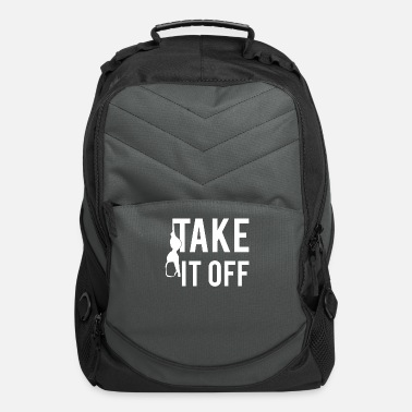 Take-off-plane Take It Off - Computer Backpack