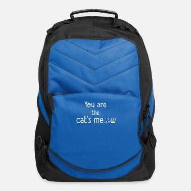 You re The Cats Meow - Computer Backpack