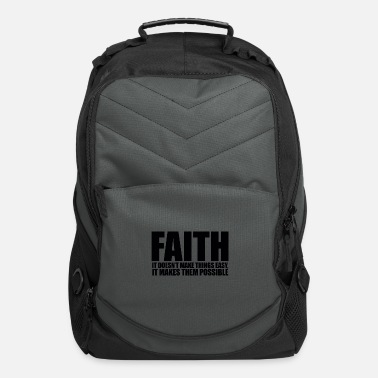Faith InspireMe Faith Tee - Computer Backpack