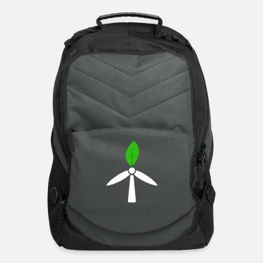 Environmental Protection, wind power, - Computer Backpack