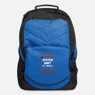 Epstein Didn T Kill Epstein Didn t Kill Himself Christmas - Computer Backpack