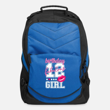 College 12th birthday girl pink kiss college Style number - Computer Backpack