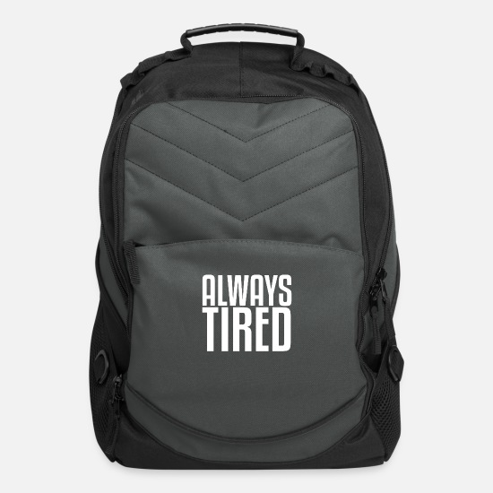 Always Bags & Backpacks - Always tired - Computer Backpack charcoal