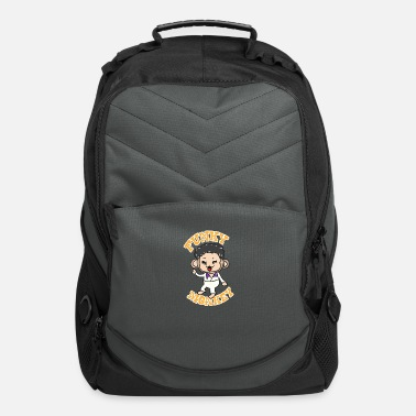 Funky Funky Monkey - Computer Backpack