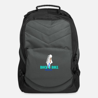 Metal ROCK N ROLL FREEDOM Music Gift - Computer Backpack