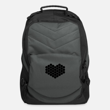 Honeycomb Heart - Computer Backpack