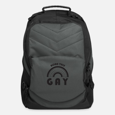 Born Sex born this gay - Computer Backpack