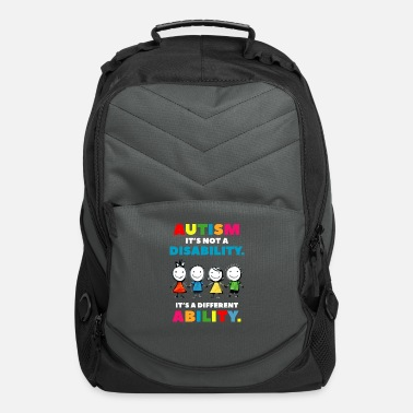 Autism Awareness Day Autism it s not a Disability Autism Awareness Day - Computer Backpack