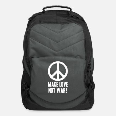 Anti Make Love Not War! - Computer Backpack