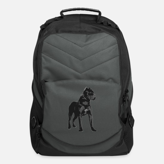 Cane Bags & Backpacks - Cane Corso Italiano - Computer Backpack charcoal