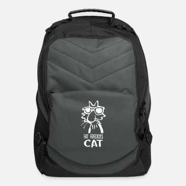 S Fat Cat Fat Freddys Cat - Computer Backpack