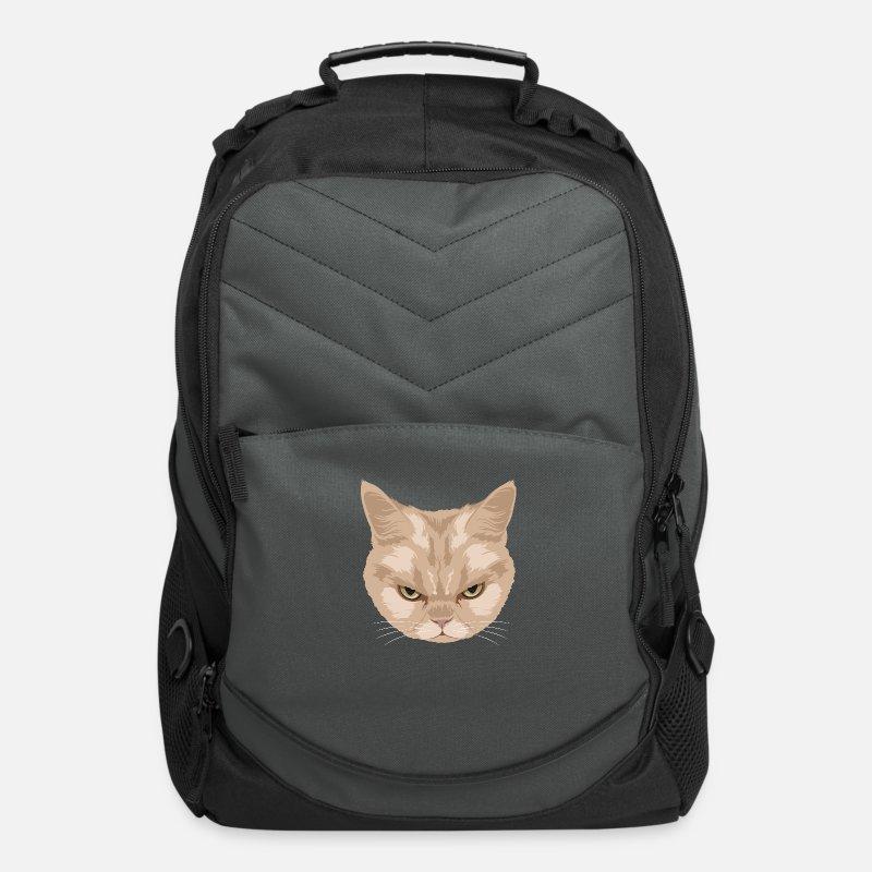 0a2fbd5ae9fa Shop Grumpy Cat Backpacks online | Spreadshirt