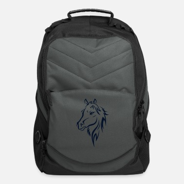 Western Riding BEAUTIFUL HORSE HEAD - Computer Backpack