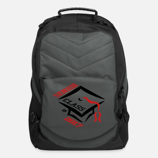 School Bags & Backpacks - Senior Class of 2017 - Computer Backpack charcoal